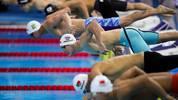 Schwimmen, Kurzbahn-WM: Deutsche Staffel schwimmt Rekord, Marco Koch weiter , Die deutschen Schwimmer kämpfen bei der Schwimm-WM im chinesischen Hangzhou um Medaillen