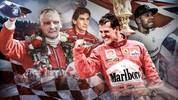 Größte Formel 1 Fahrer der Geschichte mit Niki Lauda, Michael Schumacher, Lewis Hamilton, Sebastian Vettel