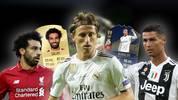 Mo Salah, Luka Modric und Cristiano Ronaldo sind die Kandidaten für den Weltfußballerwahl