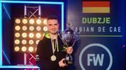 Dubzje mit dem ESWC Pokal