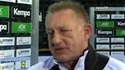 Der Handball-Bundestrainer Michael Biegler im Interview nach dem Remis gegen Litauen in der EM-Quali