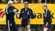 Fussball: Nationalmannschaft GER 2004, Training
