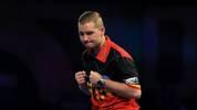 Dimitri van den Bergh will gegen Luke Humphries in die dritte Runde einziehen