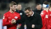 Timo Werner kann sich eine Zukunft bei RB Leipzig vorstellen, Ralf Rangnick will die Vertrags-Verlängerung vorantreiben