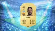 -1 Luis Suarez: Der Stürmer verliert zwei Punkte im Schnelligkeitsbereich und sein Rating sinkt von 92 auf 91