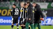 Tony Jantschke musste in Wolfsburg vorzeitig ausgewechselt werde