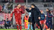 Franck Ribery erwischte gegen Athen einen seiner schwächeren Abende im Trikot des FC Bayern