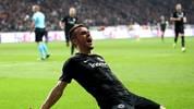 Filip Kostic besorgte die frühe Führung für Eintracht Frankfurt