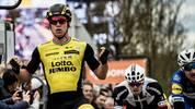 Dylan Gronewegen fährt für das Team Lotto NL-Jumbo