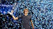 Alexander Zverev ist amtierender Champion der ATP