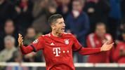 Robert Lewandowski traf gegen AEK Athen doppelt