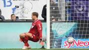 Oliver Baumann patzte beim Spiel seiner TSG 1899 Hoffenheim gegen den VfL Wolfsburg gleich zweimal