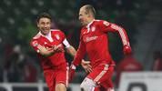 Arjen Robben, Mark van Bommel, FC Bayern München, PSV Eindhoven