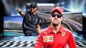Lewis Hamilton (l.) ließ in den letzten Jahren Sebastian Vettel meist hinter sich