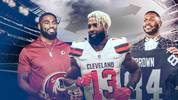 Landon Collins, Odell Beckham jr., Antonio Brown