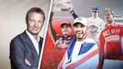 Peter Kohl, Lewis Hamilton, Sebastian Vettel, Max Verstappen