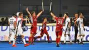 Die deutschen Hockey-Herren sind im Viertelfinale an Belgien gescheitert