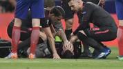 Laurent Koscielny verletzte sich ohne Einwirkung eines Gegenspielers schwer
