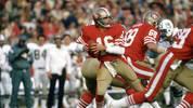 PLATZ 18 - JOE MONTANA (San Francisco 49ers, Kansas City Chiefs, 10.551 Passing Yards)