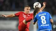 TSG 1899 Hoffenheim v FC Bayern Muenchen - Bundesliga: Dennis Geiger