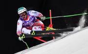Vincent Kriechmayr fuhr im Abschlusstraining der Abfahrt in Bormio die schnellste Zeit