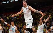 Luka Doncic feierte mit Real den Titel in der Euroleague