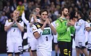 Für die deutschen Handballer um Uwe Gensheimer bleibt das Spiel um Platz 3