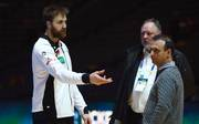 Andreas Wolff (l.) kritisierte die Schiedsrichter scharf