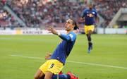 Yussuf Poulsen erzielte für RB Leipzig einen Doppelpack gegen den VfB Stuttgart