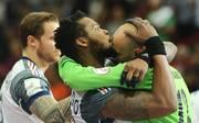 Frankreich feiert bei der Handball-WM in Katar
