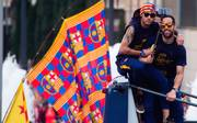 FC Barcelona La Liga Trophy Celebration Parade