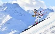 Viktoria Rebensburg landet beim Super-G in Gröden 0,43 Sekunden hinter Siegerin Ilka Stuhec