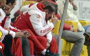 Huub Stevens vom VfB Stuttgart ist enttäuscht