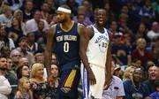 DeMarcus Cousins (l.) spielt nächste Saison bei NBA-Champion Golden State Warriors