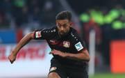 Karim Bellarabi von Bayer Leverkusen in Aktion gegen Hertha BSC