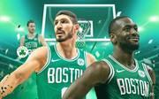 Boston Celtics Teamcheck Kemba Walker, Enes Kanter, Gordon Hayward