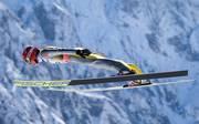 Richard Freitag gewann bei der Skiflug-WM 2018 eine Medaille