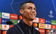 Cristiano Ronaldo spielt mit Juventus Turin bei Manchester United