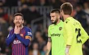 Pokal-Aus für Lionel Messi und Co. trotz Sieg? Barcelonas Gegner UD Levante legte Protest ein