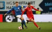 Der Hallesche FC hat einen Auswärtssieg in Rostock verpasst