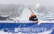 Vierschanzentournee in Bischofshofen: Qualifikation wegen Wetter abgesagt