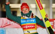 Katharina Althaus gewann bei den Olympischen Spielen die Silbermedaille