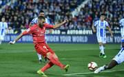 Karim Benzema erzielte das einzige Tor für Real Madrid in Leganés