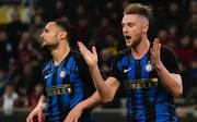 Milan Skriniar soll auf dem Wunschzettel von Manchester City stehen