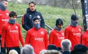 Niko Kovac im Training von Eintracht Frankfurt