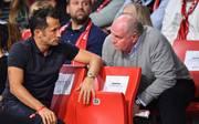Hasan Salihamidzic (l.) ist seit Sommer 2017 Sportdirektor beim FC Bayern
