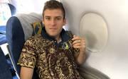FC Rostov trägt Teppich-Trikot