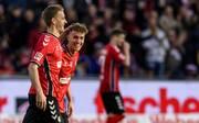 Luca Waldschmidt und Nils Petersen, die beiden Goalgetter vom SC Freiburg