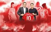Philippe Coutinho (3.v.r.) erhält beim FC Bayern die Rückennummer zehn