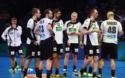 Deutschlands Handballer unterlagen bei d er WM gegen Katar